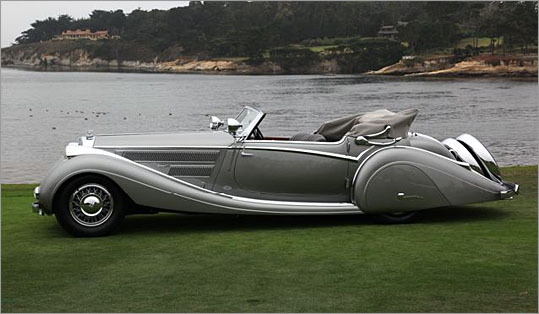 The Horch has a 5 liter straight-8.