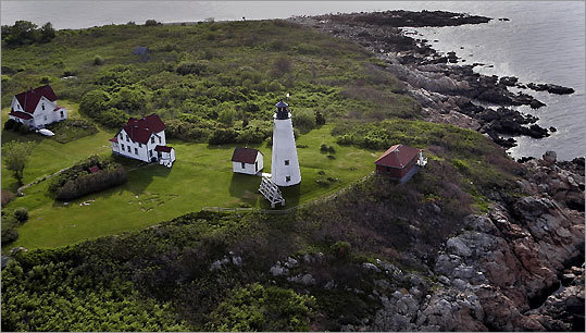 Baker's Island remains a popular summer destination for residents. The first two lights were established in 1798. By 2002, the lighthouse became solar-powered. *Closed to the public