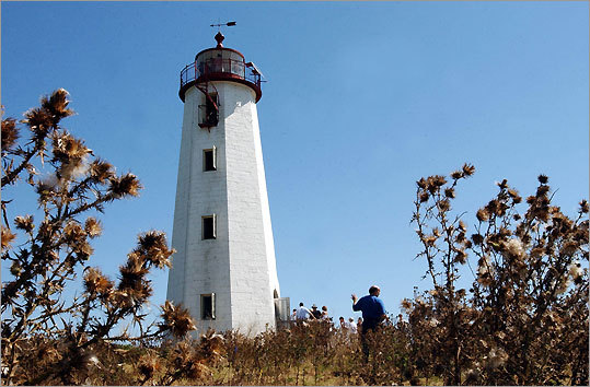 This lighthouse, located a few miles off the coast of Guilford, is Connecticut's second-oldest. President Thomas Jefferson attended Its dedication in 1802. Today, the island is a bird sanctuary and part of the Stewart B. McKinney National Wildlife Refuge. There is an open house on the island every September.