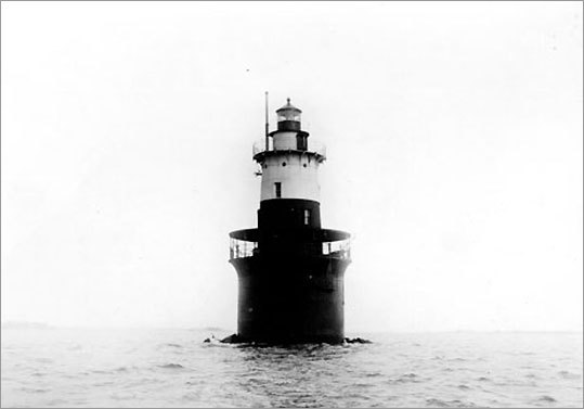 When it debuted in 1802 on the southwest end of the Norwalk Islands, Greens Ledge Light replaced the 1868 light on Sheffield Island. Over the years, the lighthouse developed a tilt, a problem that keepers solved by moving all furniture to one side. Every Labor Day, swimmers participate in the Arthur J. Ladrigan Swim Races , which include a lighthouse race, a one-mile swim from Green's Ledge Lighthouse to shore. * Not open to the public.