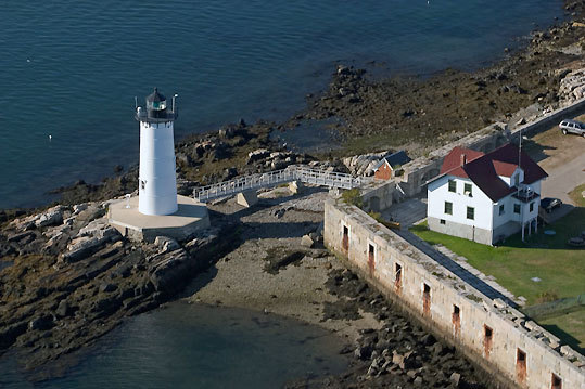 Portsmouth's lighthouse has played an important role in American history. It was the first military light station in the British colonies that became the present United States, the 10th of 11 light stations established in the colonies before the American Revolution, and the first lighthouse in the American colonies north of Boston. Today, it is cared for by the Friends of Portsmouth Harbor Lighthouse .