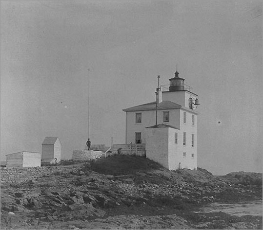 Recently restored, the Dutch Island Light was built in 1857, the second station on the island. The original was built from stones found on the island. The island is so named because the Dutch from New Amsterdam (New York) used this spot as a safe place to trade their goods to the Indians. * Not open to the public.