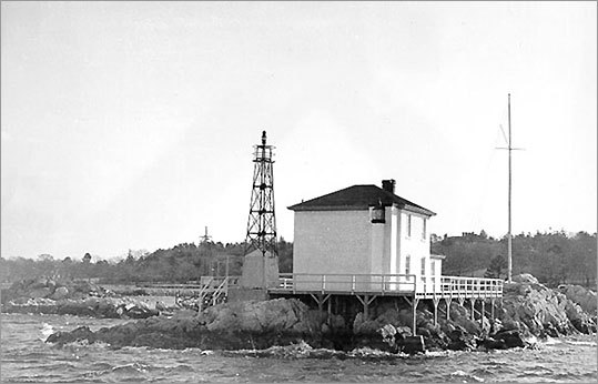 Originally named the Lime Rock Lighthouse, this light was renamed in 1924 for the bravery of Ida Lewis, a keeper there for 32 years. Lewis, according to lighthouse historian Jeremy D'Entremont, is the most celebrated lighthouse keeper in American history thanks to her famous rescue attempts. Today, the house is the location for the Ida Lewis Yacht Club.