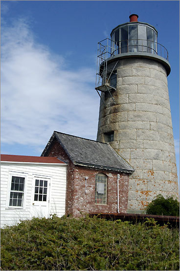A New England classic made from granite, the Monhegan Island Light serves as a beacon for the island, known for its art and traditional fishing communities. The lighthouse was first built in 1824. The tower is not open to the public, but the keeper's house is a museum, open daily through September.
