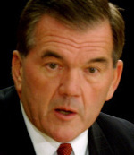 Tom Ridge, former Homeland Security chief, said he felt pressure about the terror alert level just before the election.