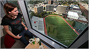 Boston University's new high-rise dorm