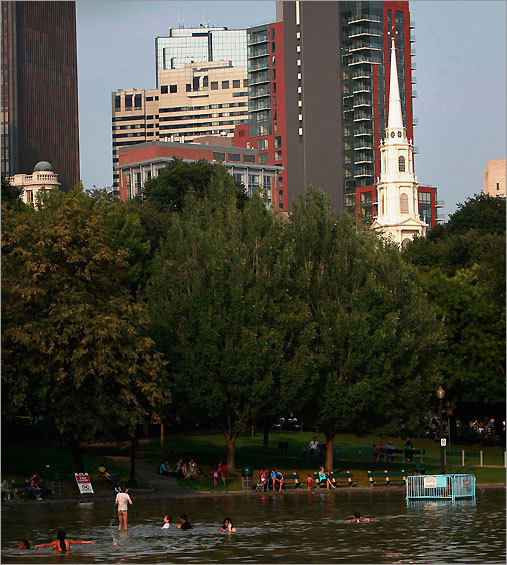 I'm a people watcher by nature, so it's no surprise that one of my favorite Boston spots is Boston Common, a nearly 50-acre park located just south of Beacon Hill. On any given afternoon at the Common, you'll see men in suits – perhaps from the nearby State House or law offices – taking their lunch break in the park; groups of schoolchildren swarming the playground; even tour guides dressed in historic colonial garb, enticing you to take a trip down the Freedom Trail. It's the perfect spot to escape from the hustle and bustle of the city and appreciate the diverse mix of people and activities – you're as likely to see a couple taking wedding portraits as you are performing musicians or an intense game of Wiffle ball. Gabrielle Munoz