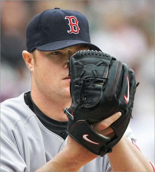 Jon Lester started for the Red Sox Sunday afternoon and threw seven shutout innings against the White Sox.