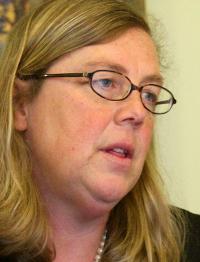 Mayor Carolyn Kirk of Gloucester sees a political agenda.