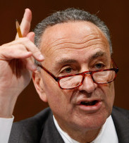 Senator Charles Schumer said Democrats 'have some differences ... but we're very genuinely working them out.'