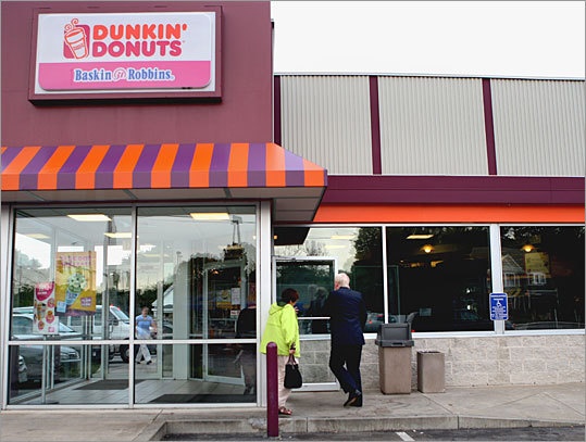 The Dunkin' Donuts in Weymouth on the corner of Route 18 and Park Avenue is one of only three dozen of the more than 2,100 shops in the Northeast that still make doughnuts from scratch in the stores.