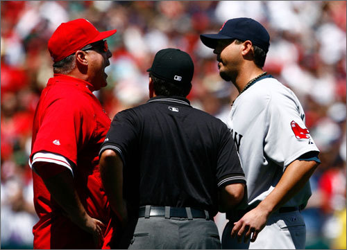 With tonight's American League Division Series opener, the Red Sox and Angels will begin what feels like an annual meeting between the two clubs in the postseason -- and in recent years, this is exactly what it has been. This is the third straight season the Sox and Angels have met in the postseason, the fourth time since 2004, and the fifth since 1986. All in all, the clubs have played 17 postseason games through the years, with the Sox winning 13. Here, in no particular order, is a look at 10 of the most memorable moments from the teams' meetings.