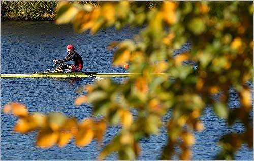 1.Go row a boat. Glide through the Charles or other area waterways ahead of the weekend's Head of the Charles events.