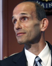 AN UNEASY DECISION Governor John Baldacci, a Catholic, initially offered no support for same-sex marriages but he signed the bill on the same day the state Senate passed it.
