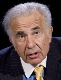 Carl Icahn is trying to block CIT's plan to restructure.
