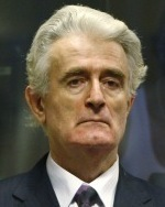 REPRESENTING HIMSELF Radovan Karadzic faces 11 war crimes charges. He has refused to enter any pleas, but insists that he is innocent.