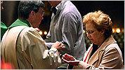 Communion at Saint Francis Chapel