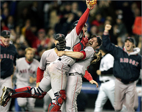4. The diabolical Red Sox supremacy argument OK, if the Yanks win, they still are one behind us in this century and can't take our two championships this decade. If the Phillies win, we're tied.