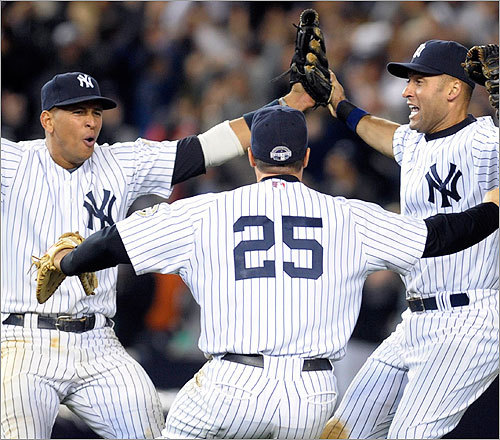 It's tough, we know. But Tony Massarotti says Red Sox Nation should go pinstripes this World Series. But how to stomach that? Here are a few recommendations. Let us know at the end if you were persuaded.