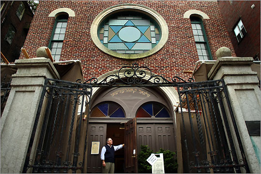The red brick facade of the Vilna Shul, and the city's last remaining immigrant-era synagogue, is quintessential Beacon Hill.