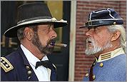 Civil War reenactors in Groton