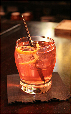 The Fall Back $11, Beacon Hill Bistro 25 Charles St., Boston In the mix 2 ounces lemon ginger vodka 2 ounces cranberry juice Splash of Prosecco Shake and strain into a cocktail glass. Garnish with lemon peel. 'This is a good transitional drink; it's refreshing and tart,' bartender Francie Doyle said. Bottom line: The Fall Back is light and bright, perfect for an Indian summer day. The slight lemon and ginger flavors add complexity. Or try: The Seven Suns ($11) is made with wu-wei tea infused bourbon. We taste anise, licorice, even lemongrass in this moody concoction.