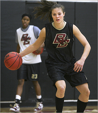 Ayla Brown is best known around the nation as a former competitor on 'American Idol.' But singing comes second for Brown. Basketball has been her first priority since she was 10 years old. Specifically, she wanted to play Division 1 basketball for Boston College. The 6-foot guard from Wrentham is now in her senior season playing for the BC Eagles.