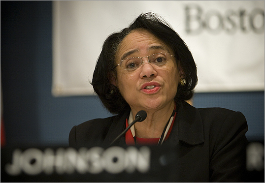 Superintendent Carol R. Johnson is scheduled to propose changes for Boston's schools tonight.