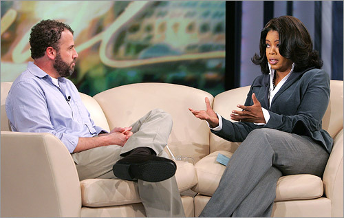 The book club has also served as a source of controversy on occasion. Winfrey endorsed author James Frey's 'A Million Little Pieces,' a book about recovering from substance abuse, in 2005. Winfrey's endorsement helping catapult 'Pieces' onto several best-seller lists. When evidence surfaced that Frey had made up portions of the book, Winfrey had him back on the show to explain his embellishments.