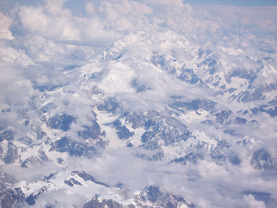 North America's tallest mountain, Mt. McKinley.