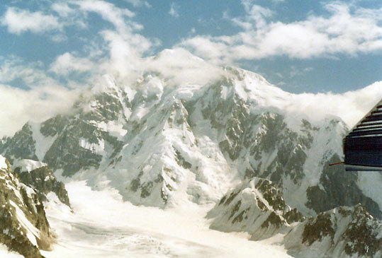 Mt. McKinley and Denali National Park - 1988.