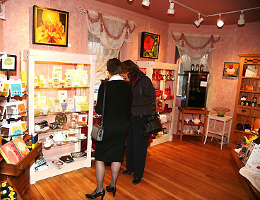 ISN'T THAT ORIGINAL? Isn't every holiday shopper looking for a gift that's one of a kind? Celebrations in Pomfret, Conn., can fill that bill, with original work from more than 40 local artisans, including painting, jewelry, glassware, and pottery, all artfully displayed in 10 rooms of a stately 1885 Queen Anne Victorian home. This year the combination gallery-shop is presenting ''Small Works: Artful Treasures,'' a show designed to entice customers to give the gift of original artwork. The exhibition, running through Jan. 3, offers original, framed art in a range of media, each smaller than 200 square inches, all under $200. But Celebrations is as much gift shop as gallery. Looking for stocking stuffers? Try specialty teas and tea accessories from Harney & Sons or Tea Forte, green journals and notebooks from Compendium, Claus Porto/Lafco soaps from Portugal, or Lake Champlain chocolates. Shopping for men? Hourglasses with sands from deserts all over the world make a distinctive desk accessory. Wrap it up with complimentary holiday gift wrap. 330 Pomfret St., 860-928-5492, www.celebrationsshoppes.com . ELLEN ALBANESE