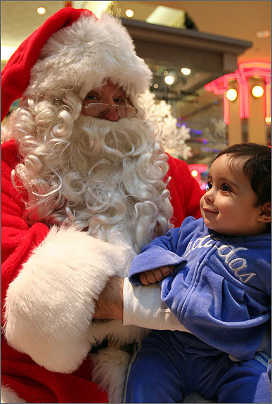 Nov. 29 in Cambridge Even if you can't talk, Noha, you can tell Santa what you want through telepathy! Learn more Make a donation