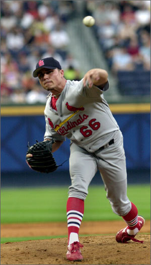 Most who follow baseball are aware of Ankiel's story and transformation from pitcher to hitter. Ankiel broke into the majors in 1999 as one of the most promising lefthanders to come along in years. But after winning 11 games as a rookie in 2000, he was never right after a stunning meltdown in Game 1 of the NLDS against the Braves. He never found his command, suffered an elbow injury, and looked like he'd be one of the great what-if? stories in baseball history. But he gave it a shot as an outfielder . . . and against all odds, he made it, returning to the majors in 2007 as a power-hitting outfielder .