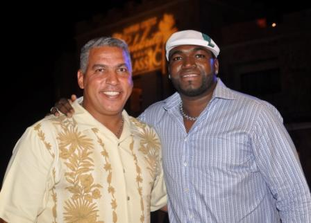 Andres Galarraga and David Ortiz