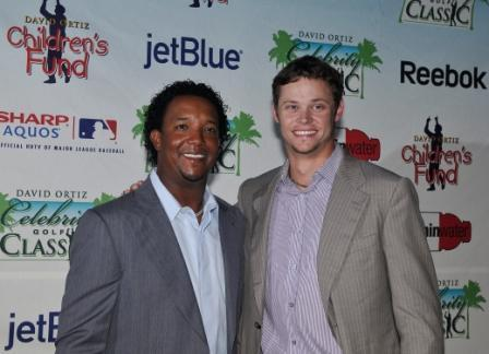 Pedro Martinez and Clay Buchholz