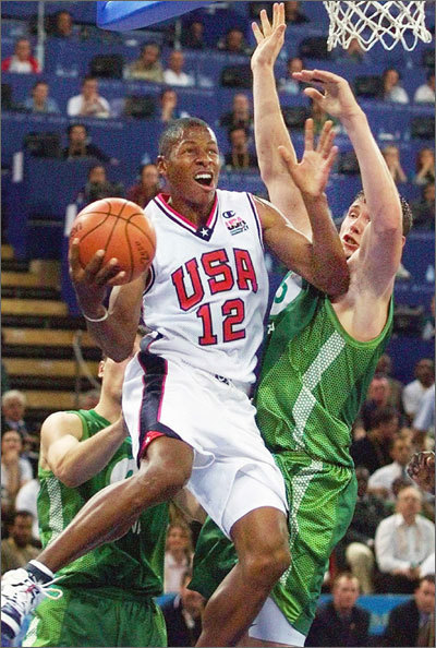 2000: US Olympian Allen was part of the 2000 U.S. Olympic team and is a proud owner of a Gold Medal. The second coming of the Dream Team went 8-0 in Australia and featured Kevin Garnett, Vince Carter, and Jason Kidd, among others.