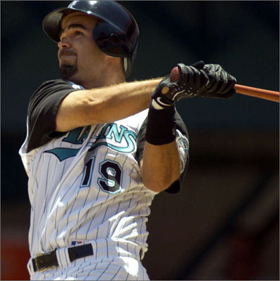 1998 Lowell began his career with the Yankees after being drafted in the 20th round of the 1995 draft. He played his first major league game in September of 1998, singling in his first at-bat. The third baseman was then traded to Florida in the offseason.