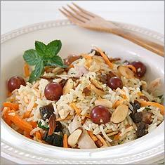 Harvest biryani salad