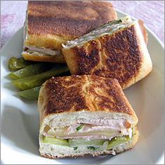 Pork cubano