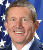 DEVELOPING LEADERS Lieutenant General Michael Gould said he is committed to fostering respect for Air Force cadets of all beliefs.