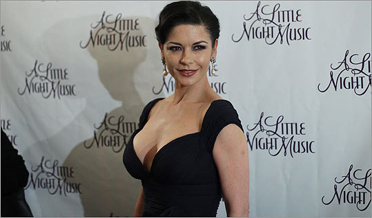 Actress Catherine Zeta-Jones attended the Broadway opening after party for 'A Little Night Music' at the Tavern On The Green on December 13, 2009 in New York City.