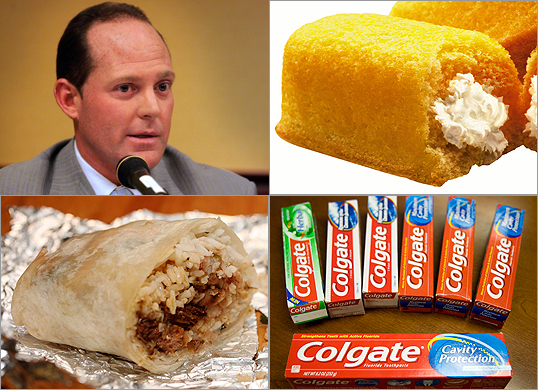 After Senator Anthony D. Galluccio failed several breathalyzer tests this week as part of his probation sentence, the senator said it wasn't alcohol on his breath: It was toothpaste. Colgate Total Whitening and Sensodyne Toothpaste, to be precise. Some have reacted with skepticism to Galluccio. But his explanation doesn't stand alone in the history of bizarre defenses.