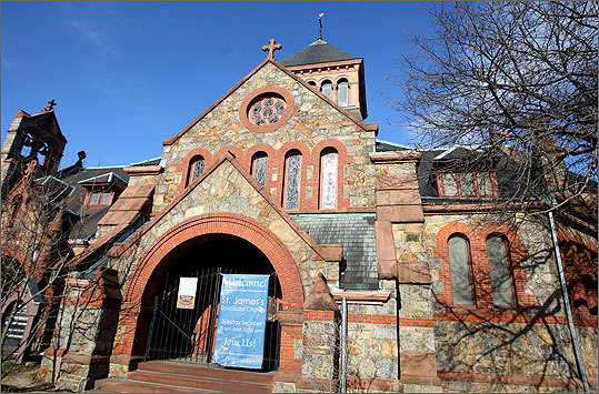 St. James's Episcopal Church in Cambridge.