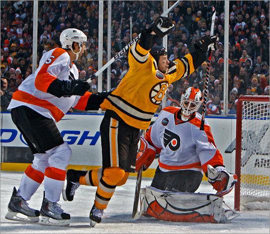 Bruins Top Flyers At Fenway 2-1, Sturm Nets Winner In OT