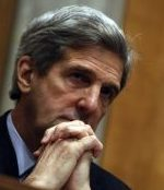 COOL RECEPTION A request by Senator John F. Kerry to visit Iran garnered opposition in a parliamentary subcommittee.