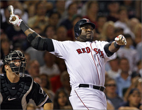 Designated hitter: 2009 stats: 150 games, 541 at-bats, .238 average. Ortiz will start the majority of games at DH, but it's possible Mike Lowell, if he's somehow not traded once he recovers from thumb surgery, will see starts against lefthanded starters. The Red Sox, who have lost Jason Bay's 36 homers and 119 RBIs, are counting on Ortiz to have fewer peaks and valleys than he did last season, when he hit .238 with 28 homers and 99 RBIs despite starting the season in a horrific slump.