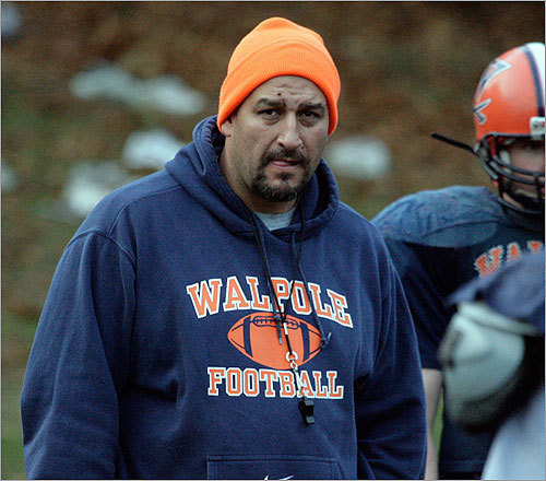 Danny Villa Former Patriots lineman was the Walpole High School football coach in 2008 when he was arrested and charged with raping a 15-year-old girl. Villa, who was also a teacher and the high school's athletic director, pleaded guilty to three counts of rape of a child and two counts of enticing a child. Story