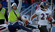 Patriots-Ravens photos