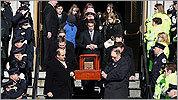 CIA operative's funeral